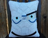 Garrus Vakarian, Mass Effect, Liara, pillow, plush, cushion