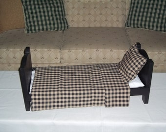 Doll bed for American Girl or any 18 inch doll