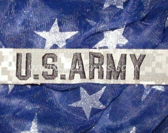 US Army Military ACU Nametape Patch