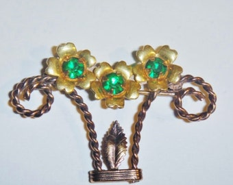Vintage  Brooch 12K Gold Filled