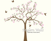 Cherry Blossom Tree Decal-Nursery Wall Decals Vinyl Wall Art Decor
