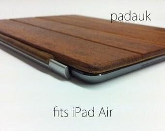 iPad Air 1 or 2 Smart Cover - Padauk wood