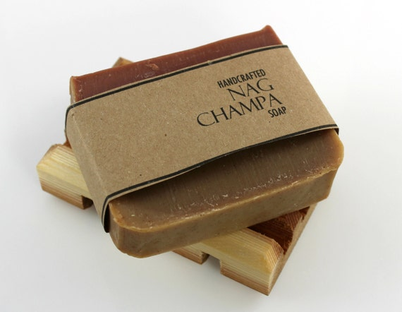 Nag Champa Soap, Vegan Friendly,  Handcrafted Cold Process Soap