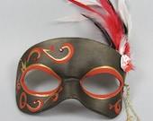 Queen of Hearts Masquerade Mask