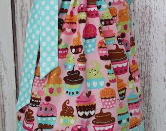 Sweet Cupcake Pillowcase Dress