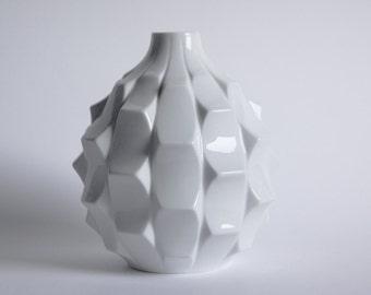 Mid Century Artichoke Vase by Heinrich Fuchs for Hutschenreuther, 1960s