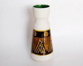Vintage German White Vase - Dümler & Breiden 1960s