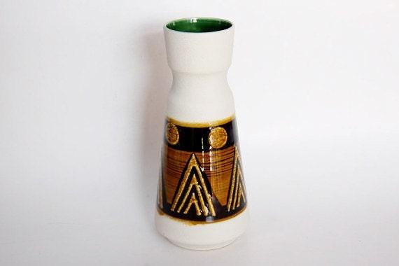 RESERVED Vintage German White Vase - Dümler & Breiden 1960s