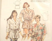 Vintage BURDA 4851 Blouse Pattern
