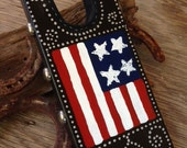Stars and Stripes Boot Jack with Old West flavor