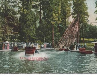 The Chutes Natatorium Park Spokane Washington PC Posted Spokane 1910