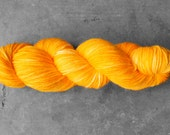Hand-dyed Fried Egg Lace 2 Ply Yarn - Superwash Merino and Silk