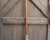 Handmade Shaker style Kitchen Broom, Winter Jewels