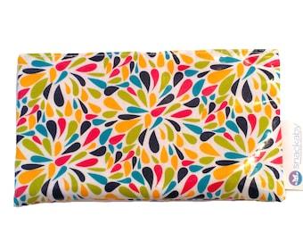 Petals velcro Snackaby Dishwasher-safe reusable washable snack bag
