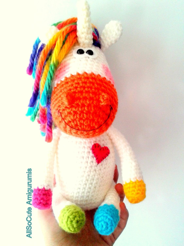 Amigurumi Year Of The Horse : Amigurumi Crochet Pattern - Horse - Pony - Unicorn from ...