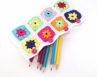 Crochet Pencil Case Pattern - Instant Download