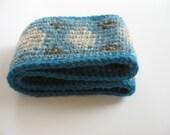 wool ear warmers ski headband medium