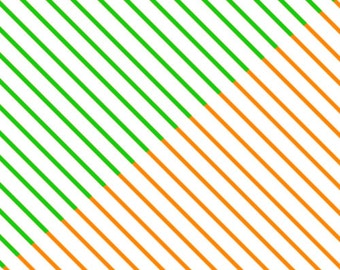 Lucky Stars Paper Strips (100): Candy Stripes
