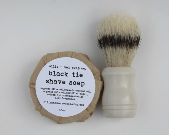 BLACK TIE Shaving Soap For Men VEGAN gifts for men