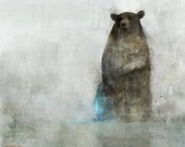 Bear Spring 01: Giclee Fine Art Print 13X19