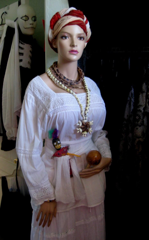 Handmade Voodoo Queen Of New Orleans Marie Laveau Halloween