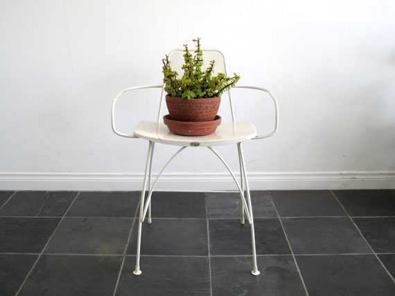 Century Patio Furniture : 1960s Patio Furniture - Mid Century Metal Chair - White Mid-Century ...