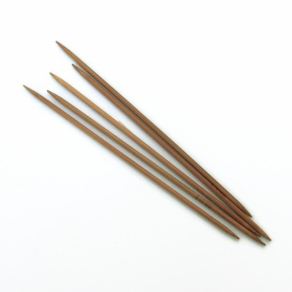 US 4 (3.5mm) Bamboo Double Pointed Knitting Needles - Set of 5