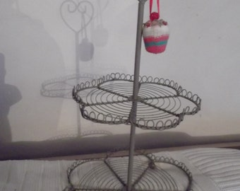 HEART CUPCAKE STAND, cake stand, weddings Valentines, engagement , anniversary party