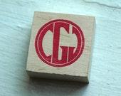 Circle Monogram Stamp