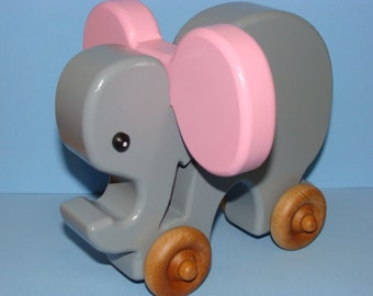 Elephant on the Go - BABY PINKY