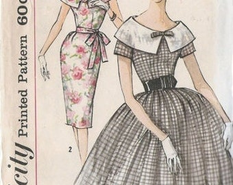 Simplicity 1956 Gown Bust 36