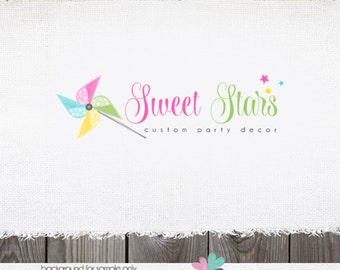 Party planner logo etsy for Capannone pianificatore di layout