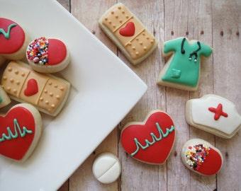 Nurse Cookies - 24 - Two Dozen