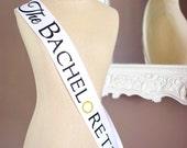 The Bachelorette Sash-White