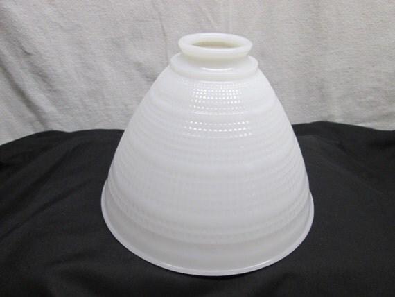 vintage ceiling or pole lamp light cover milk glass. Black Bedroom Furniture Sets. Home Design Ideas
