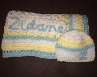 Granny Stitch Baby Set- Personalization Avaliable