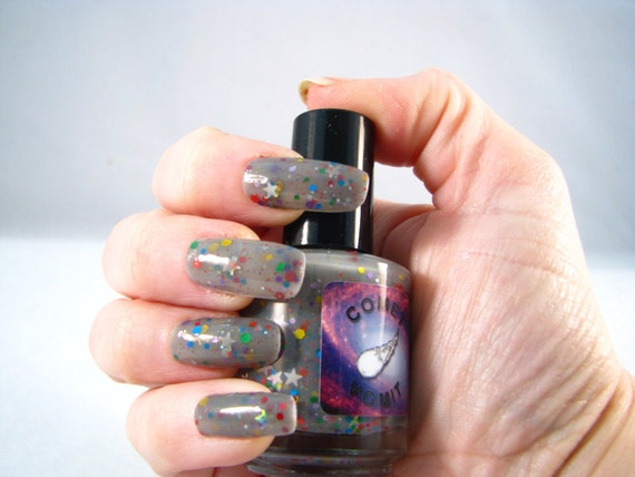 Deep Space Nyan nail polish by Comet Vomit
