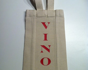 More than just a Personalized Cotton Canvas Wine Bag
