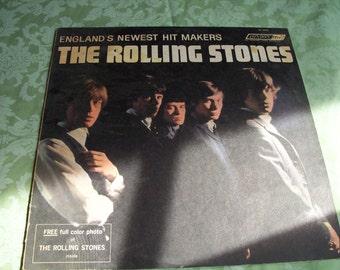 Rolling Stones album vintage LP large album with dust cover