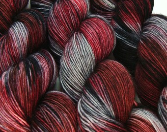 HELM'S DEEP Lord of the Rings fingering sock yarn hand dyed sw wool nylon 3.5oz 460 yards