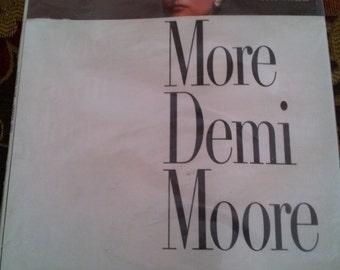Vintage Vanity Fair More Demi Moore Magazine