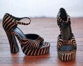 Velvet Tiger Heels