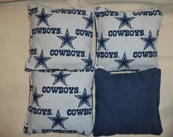Cornhole bags Dallas Cowboys corn hole bags Cowboys bean bags 4 ACA Regulation bags