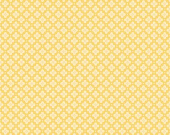 Sidewalks by October Afternoon for Riley Blake Designs - Hopscotch in Yellow - 1/2 Yard