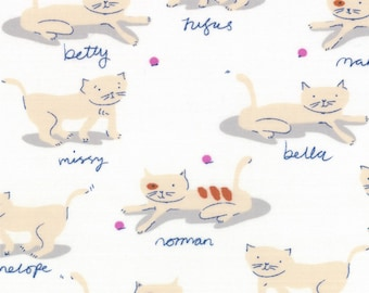 Hello Petal by Aneela Hoey for Moda - Kitty Cats in Cuddle