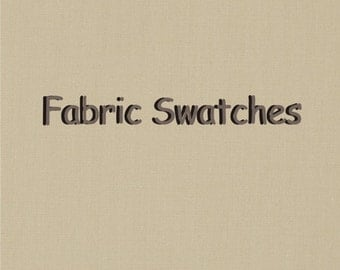Fabric Swatches / FREE SHIPPING