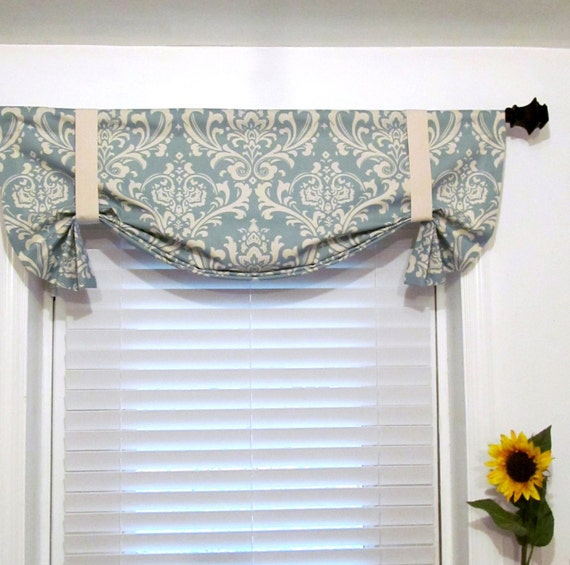 Made To Order Tie Up Curtain Valance Village By