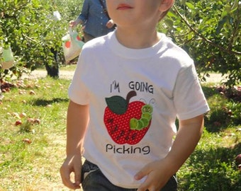 I'm going apple picking shirt