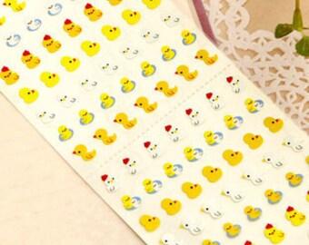Mini Duck Sticker - One Point Seal