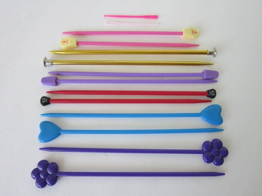 Knitting Needle Size 8 : Kids short knitting needles sizes